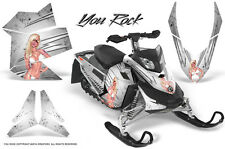 SKI-DOO REV XP SNOWMOBILE SLED GRAPHICS KIT WRAP DECALS CREATORX YRW