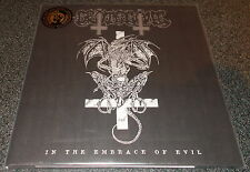 GROTESQUE-IN THE EMBRACE OF EVIL-2015 LP DIEHARD WHITE SPLTTR VINYL-100 ONLY-NEW