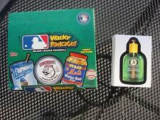 2016 TOPPS WACKY PACKAGES MAJOR LEAGUE BASEBALL COMPLETE SET 90 CARDS