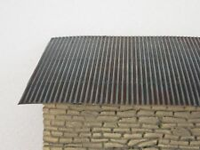 1/35 corrugated board for diorama roof shelter trench model kit tank world war 2