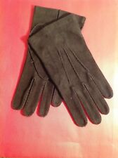TOM FORD MENS $950 DARK BROWN SUEDE GLOVE NWTAG SIZE 9 ITALY����