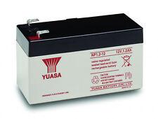 YUASA 12V 1.2AH (1,3AH) Batería Recargable Fire & Ladrón Seguridad De La Alarma