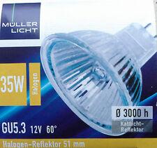 Sonderposten 10x Müller-Licht GU5.3 Halogenreflektor 35W Kaltlichtreflektor 35°