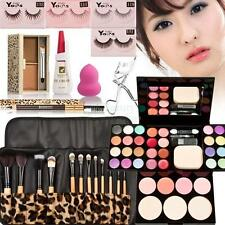 Makeup Kit Palette Eyeshadow Lip Gloss Foundation Blusher Powder Brush Gift Set