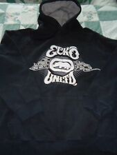Men's size Medium Black Ecko Unltd Hoodie Sweat Shirt