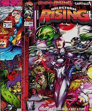 WILDSTORM RISING (serie limitada que iniciaba y concluía la saga de 10 nº's)