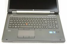 "HP EliteBook 8760w 17.3"" IPS DreamColor i7 QM 2GHz 32 256GB Nvidia Quadro Laptop"