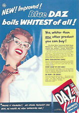ROBERT  OPIE  ADVERTISING  POSTCARD  -  DAZ  WASHING  POWDER