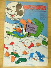 1 x Comics: Micky Maus Heft Nr. 6 - 1974
