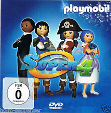 Playmobil Promotion DVD Super 4 Disney Channel Kanal NEU & unbenutzt