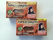 2 x Tepezcohuite Soap 4.4 for Skin Concerns Herbal /2 pack Jabon de Tepezcohuite