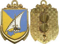 6° B.C.S, émail, 2 pastilles sans marquage, Drago 1922 (2520)