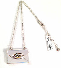 NEW BRIGHTON JN3751 HEART NOTES TWO TONE SILVER PLATED LOVE ENVELOPE & LETTER