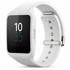 New Sony SmartWatch 3 SWR50 NFC Waterproof IP68 Android OS Watch-White-Free Ship