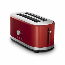 KitchenAid RKMT4116ER 4 Slice Long Slot Toaster High Lift Lever Red