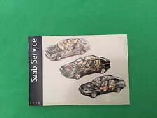Genuine Saab Service Book. Covers All 1998 Models Unused Brand New