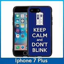 Tardis Keep Calm And Don't Blink For Iphone 7 Plus (5.5) Case Cover By Atomic Ma