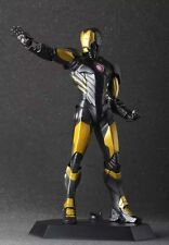 Crazy Toys IRON MAN Black & Gold Color The Avengers Figure Figurine new in box