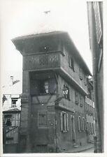 THANN c. 1935 - Maison rue de La Halle  Haut-Rhin - DIV 6465