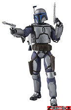 NEW - Jango Fett Star Wars SH Figuarts Figurine Model Bandai Japan