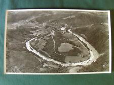 MEANDRE DU TARN à l'est d'ALBI (81)  PHOTO AERIENNE 27 cm x 45 cm  LAPIE 1958