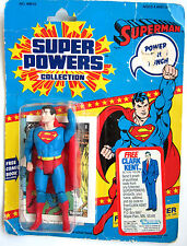 Super Powers Superman Kenner vintage on Clark Kent Offer card dc 23 back