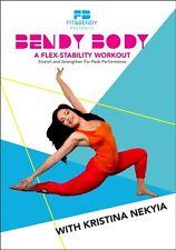 BENDY BODY KRISTINA NEKYIA FLEXIBILITY TRAINING STRETCHING WORKOUT DVD NEW