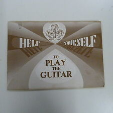 guitar HELP YOURSELF TO PLAY THE GUITAR  Susan Stevens, 1975