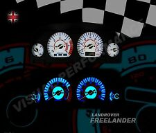Fits Land Rover Freelander TD4 Dash light upgrade kit plasma glow speedo gauge