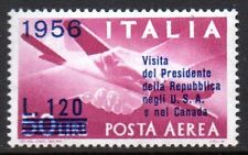 Italy - 1956 Presidential visits to USA and Canada Mi. 962 MNH