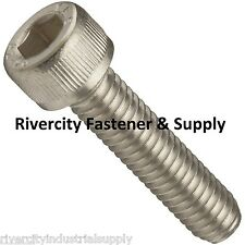 (10) M8-1.25x20mm OR M8X20 mm Socket / Allen Head Cap Screw Stainless Steel