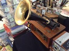 "Spirit of St. Louis CLASSIC HOME ""EDISON"" PHONOGRAPH CD AM/FM RADIO"