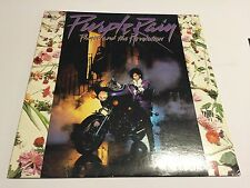 Prince and the Revolution Purple Rain LP - 1984  Warner Bros 26110-1