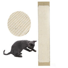 Corner Wall Big Scratch Scratcher Post Mat Board Funny Pet Cat Kitten Sisal Toy