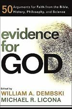 EVIDENCE FOR GOD - MIKE LICONA WILLIAM A. DEMBSKI (PAPERBACK) NEW