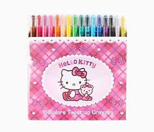 Sanrio Hello Kitty Checkered Twist Up Crayon