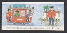 Norvège - 1984, histoire de caractères livret de 10 x 2k50 timbres-neuf sans charnière-sg SB72