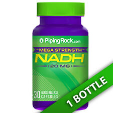 NADH 20mg 30 Capsules ß-nicotinamide adenine dinucleotide by Piping Rock