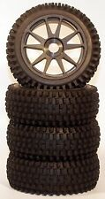 1/8 Mohawk BSK Pre-Mounted 1/8 Buggy Tires Glued