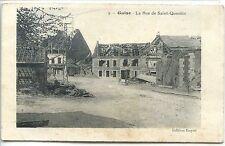 CP 02 Aisne - Guise - La Rue de Saint-Quentin