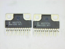 "MB3737A  ""Original"" Fujitsu  12P ZIP IC with heat sink back  2  pcs"