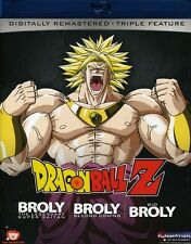 DragonBall Z: Broly Triple Feature (Blu-ray Used Very Good) BLU-RAY/WS