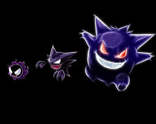 Pokemon Gengar 1 Poster Japanese Anime Manga Wall Art Print Decor 16x20 Inches