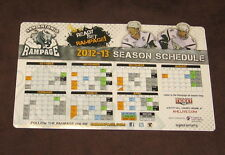NEW AHL SAN ANTONIO RAMPAGE 2012-2013 HOCKEY SEASON SCHEDULE CALENDAR MAGNET