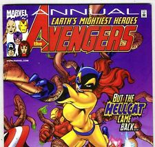 The AVENGERS Annual 2000 with Captain America & Hellcat from 2000 in NM con. DM