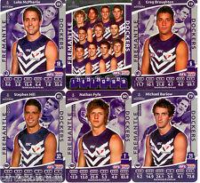 2012 AFL Teamcoach Silver Team set Fremantle (12)