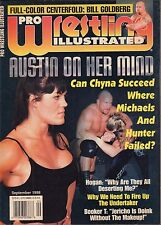 Pro Wrestling Illustrated September 1998 Chyna, Shawn Michaels VG 050416DBE