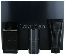 Encounter by Calvin Klein for Men SET:EDT 3.4+ Deo 2.6oz+ After Shave 3.4oz NIB