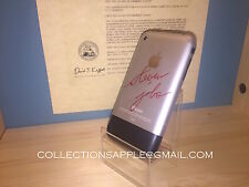 Apple iPhone 2G 8 GB Collezione Rare 1st Generation Autografo Steve Jobs Reprint