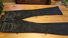 American Eagle Outfitters Darkwashed slightly distressed Artist Jeans 0 R